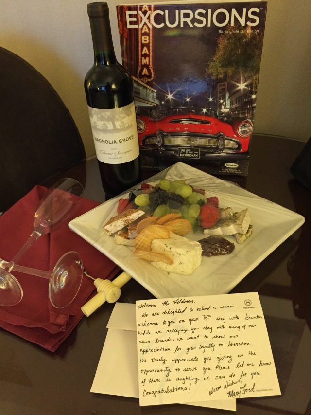 We had this waiting for us in our room.  Nice!
