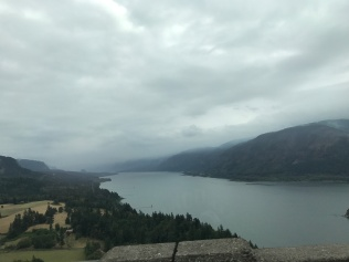 View of Columbia River from the Washington side